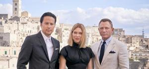 L'agente 007 è sbarcato a Matera