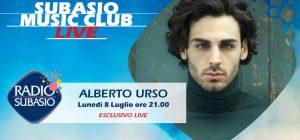 Da Amici a Radio Subasio: il vincitore Alberto Urso a Subasio Music Club