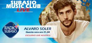 Alvaro Soler porta il pop latino a Radio Subasio. Benvenuta estate!