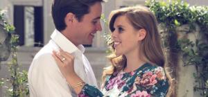Beatrice di York ed Edoardo Mapelli Mozzi sposi a maggio