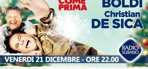 """Speciale Per Un'Ora d'Amore con Boldi e De Sica .... sentirsi """"Amici come prima"""""""