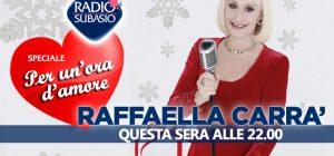 Speciale Per Un'Ora d'Amore con Raffaella Carrà ... è tempo di Auguri di Natale