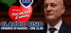 """A """"Speciale Per Un'Ora D'Amore"""" l'ironia di Claudio Bisio"""