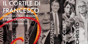 Assisi: Christo, Cacciari, Isgrò, Prodi e Toscani alla terza edizione de 'Il Cortile di Francesco'