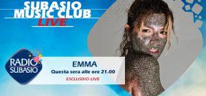 """Che """"Fortuna""""! Emma a Radio Subasio protagonista di Subasio Music Club"""