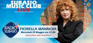 """Fiorella Mannoia a Subasio Music Club. Live """"Personale"""" davanti a 40 fan"""