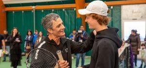 Fiorello e la partita a tennis con Jannik Sinner