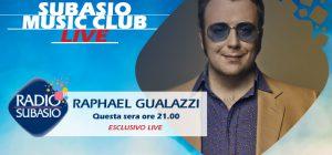 A Radio Subasio Raphael Gualazzi per un Subasio Music Club dalle mille sonorità