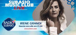 Irene Grandi a Radio Subasio per un 'Grandissimo' Subasio Music Club