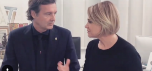 Social e amore: Simona Ventura e Gerò Carraro per dirsi addio usano Instagram