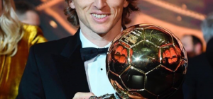 Luka Modric è Pallone d'Oro