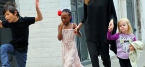Angelina Jolie non vuole più custodia esclusiva figli ... apertura a Brad Pitt?