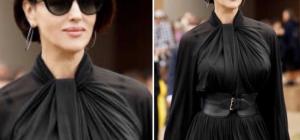 Monica Bellucci detta le regole della moda capelli d'autunno