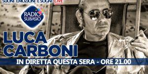 A  Subasio Music Club arriva Luca Carboni ... tutti a bordo del suo Sputnik!