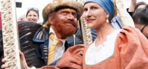 Roma, arrivano Laura Pausini (Ragazza con l'Orecchino di Perla) e Biagio Antonacci (Vincent Van Gogh)