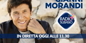Gianni Morandi su Radio Subasio, Carloforte è un posto incredibile!!!!