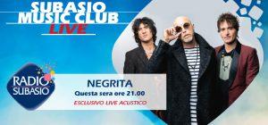 I Negrita a Radio Subasio: viaggio rock a Subasio Music Club
