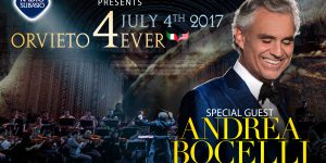 Orvieto4Ever: con Andrea Bocelli e l'Independence Orchestra anche R. Subasio