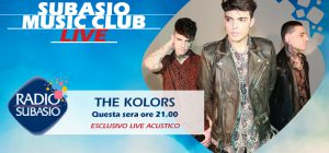 The Kolors a Radio Subasio. Il calore del live e dei fan a Subasio Music Club