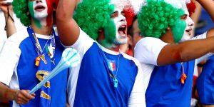 Gli Italiani e l'amore per il calcio