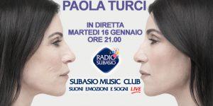 Il primo appuntamento del 2018 è al femminile ... arriva Paola Turci!