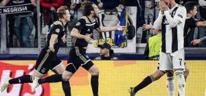 Maledizione Champions, la Juve crolla con l'Ajax