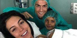 Cristiano Ronaldo papà per la quarta volta, è nata Alena Martina