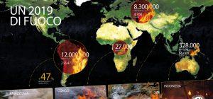 WWF: 2019 anno di fuoco per le foreste del pianeta