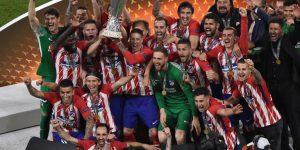 L'Atletico Madrid vince l'Europa League