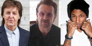 "Paul McCartney, Pharrell Williams, Bono e tanti altri insieme per il ""clima"""