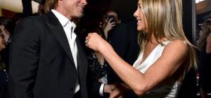 Brad Pitt e Jennifer Aniston ... quegli sguardi che fanno sognare