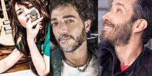 Max Gazzè, Carmen Consoli e Daniel Silvestri ancora insieme per tre live