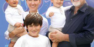 Celine Dion: a Parigi con i figli, ricordando il marito René