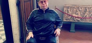 Elton John agli Uffizi... a tutti i costi!