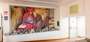 Bergamo, l'arte sbarca in corsia