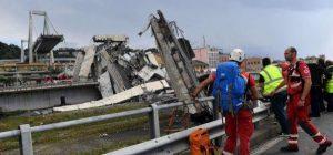 Genova: il 15 dicembre si comincerà a demolire il Ponte Morandi