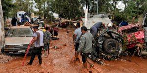 Il fango travolge la periferia di Atene: almeno 15 morti
