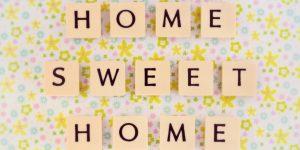 Home sweet home . . .