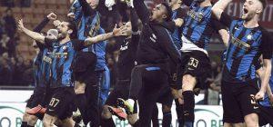 Serie A: Inter trionfa nel derby e scavalca il Milan al terzo posto