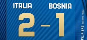 Euro 2020: Italia-Bosnia 2-1. Rimonta azzurra con Insigne e Verratti