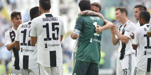 Serie A: Juventus-Verona 2-1, Buffon addio tra le lacrime