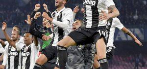 Serie A: a Napoli la Juve batte gli azzurri 2 - 1