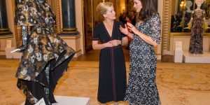 Kate Middleton incanta tutti al Commonwealth Fashion Exchange Reception