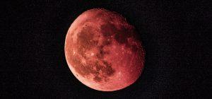 """Il 21 gennaio sarà la notte della """"Super Luna Rossa"""""""