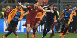 La magica Roma fa sognare il calcio italiano . . .