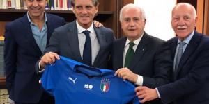Azzurri, Mancini è il nuovo ct