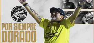 Gracias por todo Diego. L'addio social del Sinaloa Dorados a Maradona