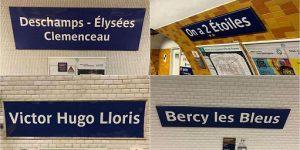 Parigi rinomina sei fermate della Metro ai campioni del mondo