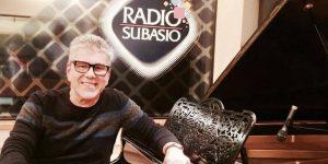 Michele Zarrillo a Radio Subasio serata live ricca di emozioni ... e gode la rete