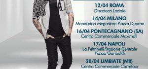 Fabrizio Moro, firmacopie in collaborazione con Radio Subasio